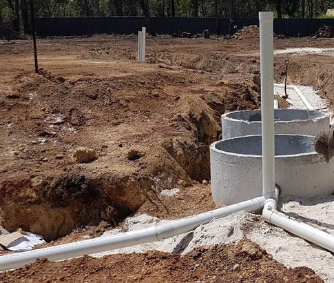 Septic Tanks & Leach Drains